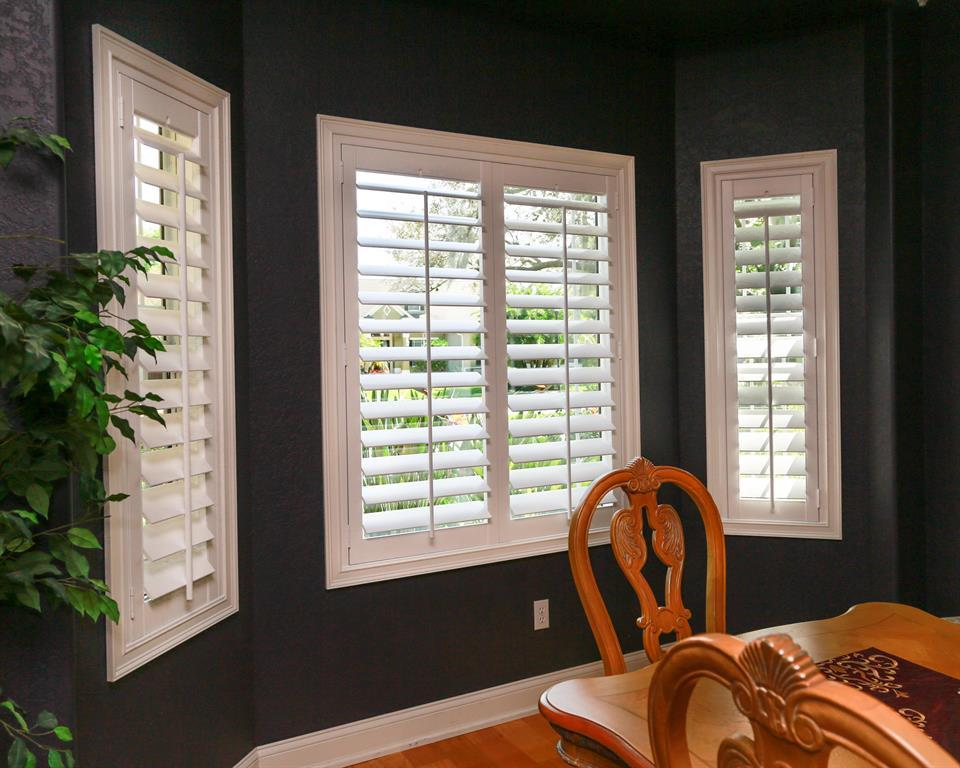 Exterior: Wood Vs. Polywood Plantation Shutters